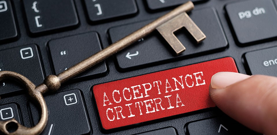 Acceptance Criteria, Are we DONE yet?