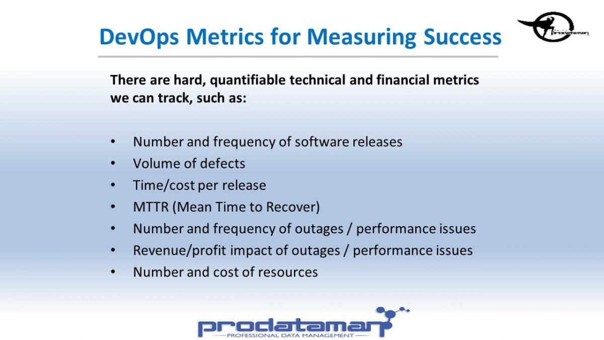 DevOps Key Metrics