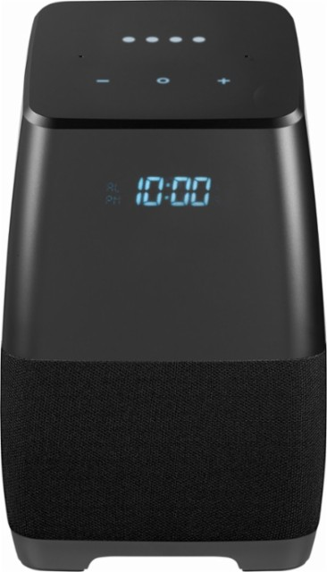 Insignia Voice Smart Portable Bluetooth Speaker and Alarm Clock with Google Assistant Multi NS-CSPGASP2 – Best Buy